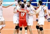 پیروزی تیم ملی والیبال ایران برابر ایتالیا/قدرت نمایی در گام نخست