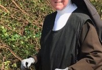 Nun With A Chainsaw Clears Hurricane Irma Debris Like A Pro