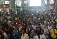 پرسپولیسی ها در میان استقبال هواداران وارد فرودگاه امام (ره) شدند