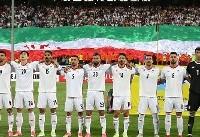 تیم ملی ایران با یک پله سقوط همچنان در صدر آسیا