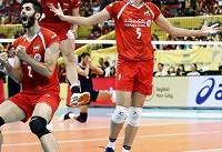 مصاف ملیپوشان والیبال ایران با قهرمان المپیک در سومین گام