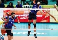 شکست ملیپوشان والیبال ایران مقابل برزیل در ست اول