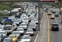 ترافیک سنگین در محور کرج به چالوس