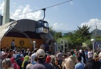 حادثه در تلهکابین رامسر / ۷ نفر مجروح شدند ( +عکس)