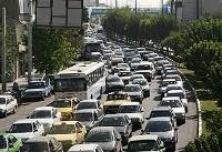 آخرین وضعیت ترافیک تهران در روز نخست مهر ماه