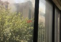 مجتمع کورش آتش گرفت + عکس و فیلم