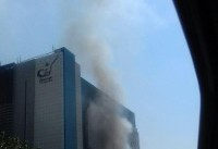 آتش سوزی در مجتمع تجاری کوروش