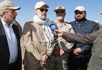 (تصاویر) علی لاریجانی با لباس نظامی در صفر مرزی