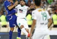 پیروزی استقلال برابر ذوبآهن در نیمه اول/ طلسم گل نزنها شکست