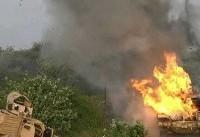 حمله راكتی و توپخانه ای رزمندگان یمن به مواضع سعودیها در نجران