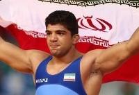 محبی دومین طلایی ایران در کشتی پهلوانی
