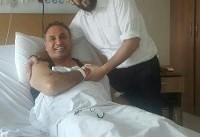 حمید فرخ نژاد در برزیل زیر تیغ جراحان رفت+ عکس