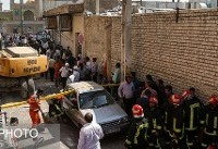 پایان عملیات  امداد و نجات در حادثه انفجار گاز در قم با ۵ کشته و ١٦مصدوم