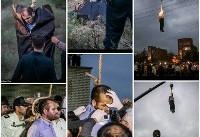 عکس: جنازه قاتل آتنا بعد از اعدام | قاتل آتنا پس از مرگ | عکس ۱۸+