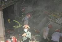 افزایش تلفات حادثه انفجار و ریزش مسافرخانه قم/ آخرین وضعیت مجروحان