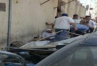انفجار یک مسافرخانه در نزدیکی حرم حضرت معصومه(س) + فیلم