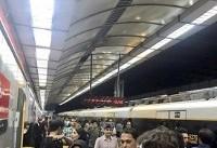 خودکشی منجر به فوت در متروی تهران