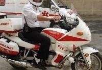 مردم تهران از آمبولانس موتوری اورژانس رضایت دارند