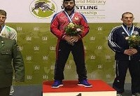 Iranian freestyle wrestlers rank 2nd in World Military Championships