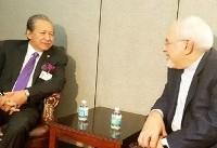 وزرای امور خارجه ایران و مالزی دیدار کردند