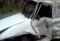 هفت کشته و زخمی در تصادف دو دستگاه وانت پیکان