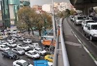 آخرین وضعیت ترافیکی تهران در اول مهر/ مهماندار: گره ترافیکی نداشتیم