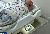 تولد نوزاد شش کیلویی در روسیه + عکس