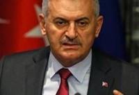 نخست وزیر ترکیه: همه پرسی اقلیم کردستان عراق امنیت ملی ترکیه را هدف قرار می دهد