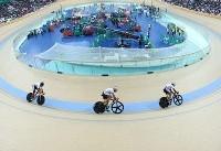 علی عسگری به مدال برنزاسپرینت نرسید/عنوان ششمی بانوی رکابزن ایران
