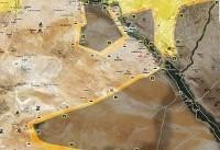 تلاش ارتش سوریه و نیروهای دموکراتیک برای بازپس گیری بزرگترین میدان گازی دیرالزور