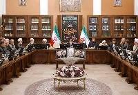اولین جلسه دوره جدید مجمع تشخیص به ریاست آیتالله هاشمیشاهرودی برگزار شد + عکس