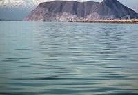 کاهش ۲۰ سانتی&#۸۲۰۴;متری تراز دریاچه ارومیه