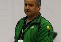 جبار قوچان نژاد سرمربی تیم والیبال ایرانیان گنبد شد