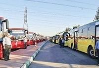 فعالیت ۶۲۵۰ اتوبوس در سطح شهر