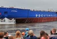 روسیه بزرگترین کشتی یخشکن اتمی جهان را به آب انداخت
