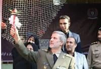 حضور وزیر دفاع در مراسم آغاز سال تحصیلی جدید در مدرسه شهید رحمانی