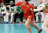 شکست لارستان مقابل آلماتی در جام باشگاههای هندبال زنان آسیا
