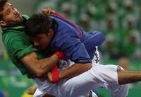 بازیهای داخل سالن آسیا؛  مدال برنز آلیش آزاد مردان بر گردن ایری