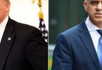 شهردار لندن: ترامپ را به انگلیس راه ندهید!