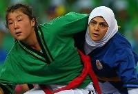 (تصاویر) درخشش دختران کشتیگیر ایران