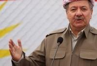 روزنامه ترکیهای: بارزانی در صدد تقدیم «سرزمین موعود» به اسرائیل است
