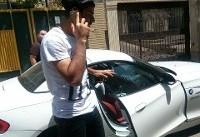 طارمی پول عابر بانک پرسپولیس را خرج خرید خودرو لوکس کرد؟ +عکس