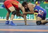 حسین الیاسی به مدال نقره بسنده کرد