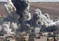 کشته شدن ۸۴ غیر نظامی توسط ائتلاف بین المللی طی دوعملیات هوایی در رقه