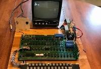 اولین رایانه اپل به همراه امضای «استیو جابز» حراج شد (+عکس)