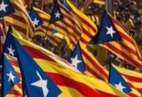 مردم کاتالونیا همه پرسی جدایی طلبی این ایالت را غیر قانونی میدانند