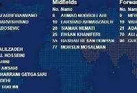 نام محرومان پرسپولیس در لیست AFC برای بازی با الهلال!
