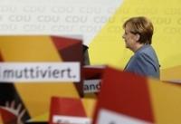 (تصاویر) آنگلا مرکل پس از پیروزی تاریخی