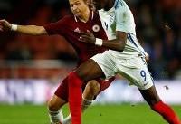 تامی آبراهام برای نیجریه در جام جهانی بازی می کند