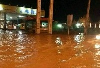 وقوع سیلاب با یک کشته در مشگینشهر/ شهر در خاموشی فرو رفت